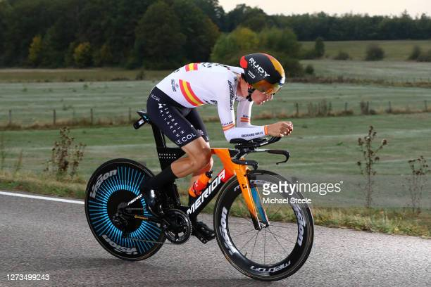 Luis Leon Sanchez Gil of Spain and Astana Pro Team / during the 107th Tour de France 2020, Stage 20 a 36,2km Individual Time Trial stage from Lure to...