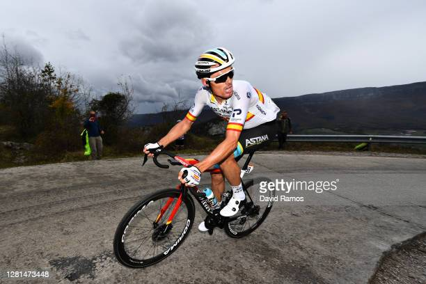 Luis Leon Sanchez Gil of Spain and Astana Pro Team / during the 75th Tour of Spain 2020, Stage 2 a 151,6km stage from Pamplona to Lekunberri /...