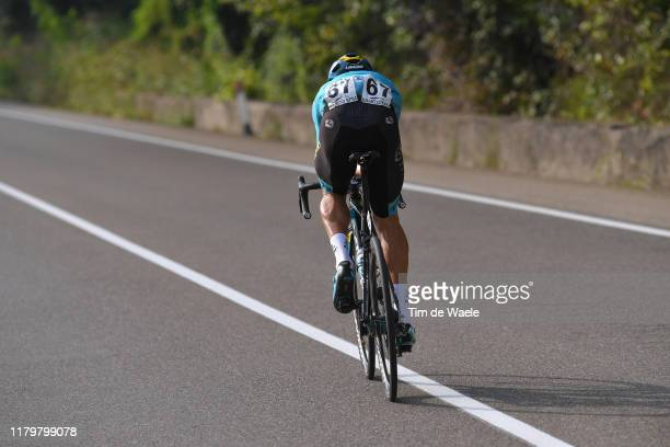 Luis Leon Sanchez Gil of Spain and Astana Pro Team / during the 99th Tre Valli Varesine 2019 a 197,8km race from Saronno to Varese 378m /...
