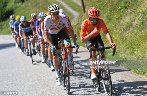 Luis Leon Sanchez Gil of Spain and Astana Pro Team / Simon Geschke of Germany and CCC Team / Breakaway / during the 107th Tour de France 2020, Stage...