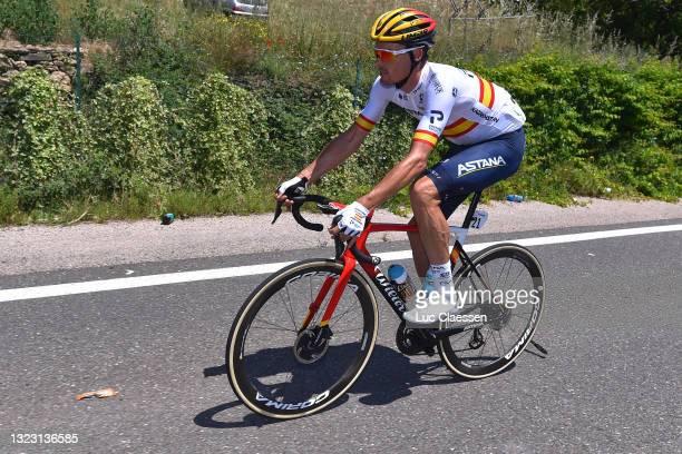 Luis Leon Sanchez Gil of Spain and Team Astana – Premier Tech during the 45th La Route d'Occitanie - La Depeche Du Midi 2021, Stage 1 a 156,5km stage...