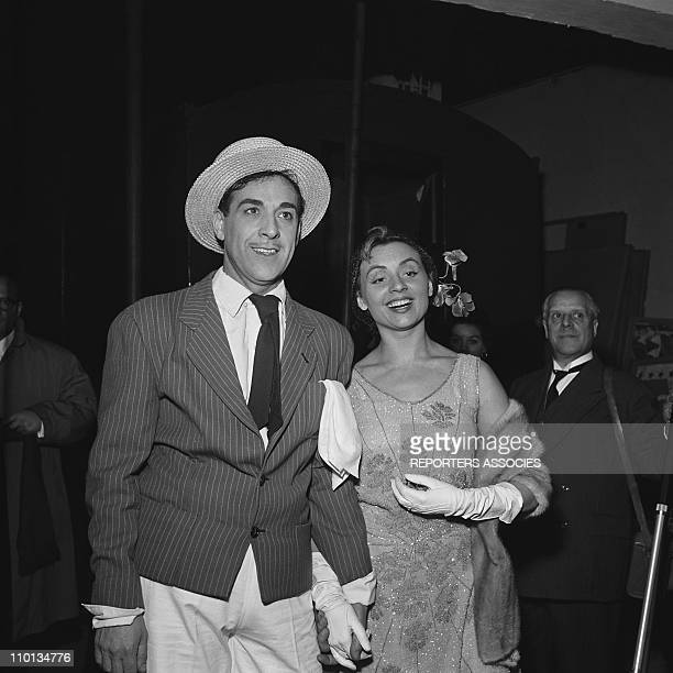 Luis Mariano and Annie Cordy in the 1950s