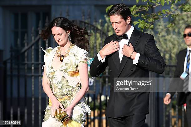 Luis Medina arrives at a private dinner on the eve of the wedding of Princess Madeleine and Christopher O'Neill hosted by King Carl XVI Gustaf of...
