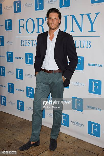 "Luis Medina attends the ""Rentree in Fortuny"" party at the Fortuny Club on September 17, 2014 in Madrid, Spain."