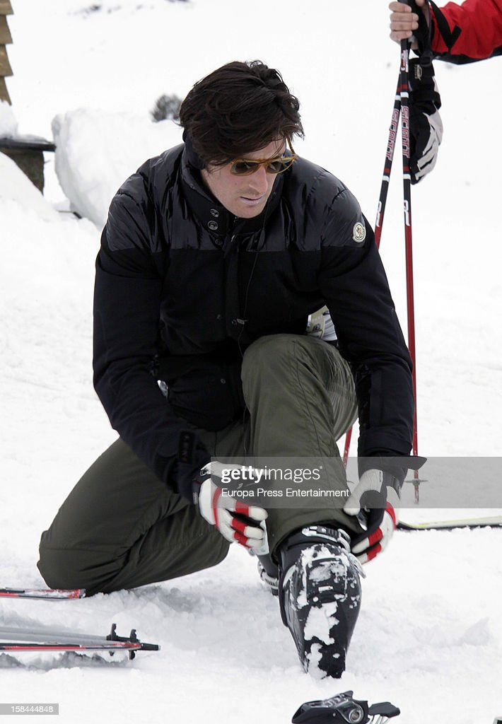 Luis Medina is seen on December 7, 2012 in Baqueira Beret, Spain.
