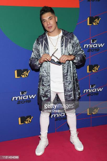 Luis Mendez Jawy of Acapulco Shore attends the red carpet of the MTV MIAW Awards at Palacio de los Deportes on June 21 2019 in Mexico City Mexico