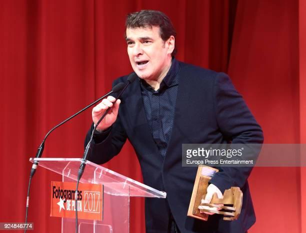 Luis Merlo attends 'Fotogramas Awards' gala at Joy Eslava on February 26 2018 in Madrid Spain