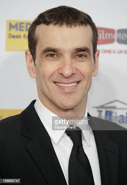 Luis Merlo attends Jose Maria Forque awards photocall at Canal theatre on January 22 2013 in Madrid Spain