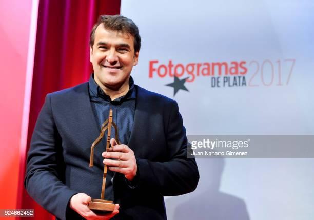 Luis Merlo receives the 'Fotogramas Awards' at Joy Eslava on February 26 2018 in Madrid Spain