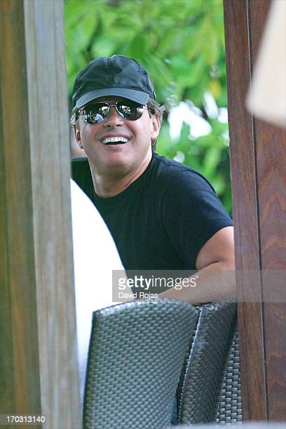 Luis Miguel is sighted on June 8 2013 in Miami Florida
