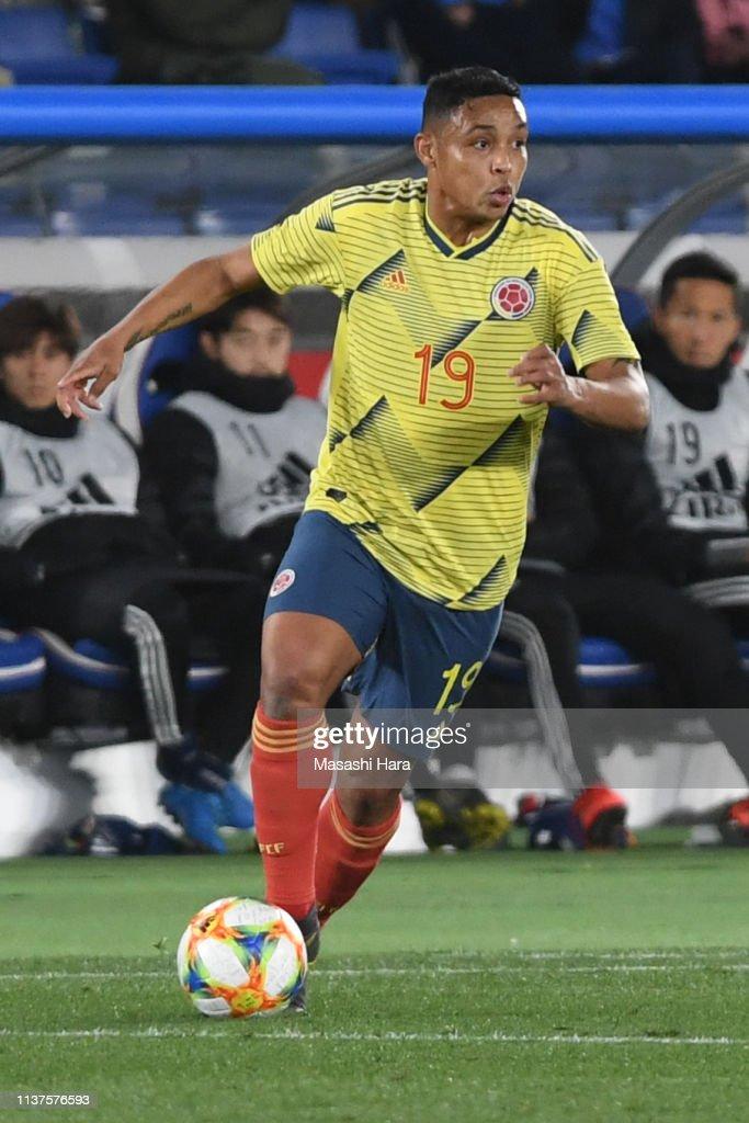 Japan v Colombia - International Friendly : ニュース写真