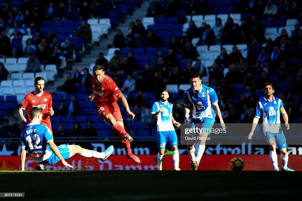 Espanyol v Sevilla - La Liga : News Photo
