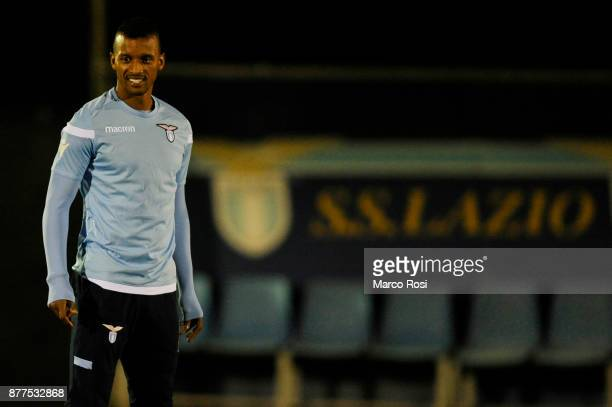 Luis Nani of SS Lazio during the SS Lazio training session on November 22 2017 in Rome Italy