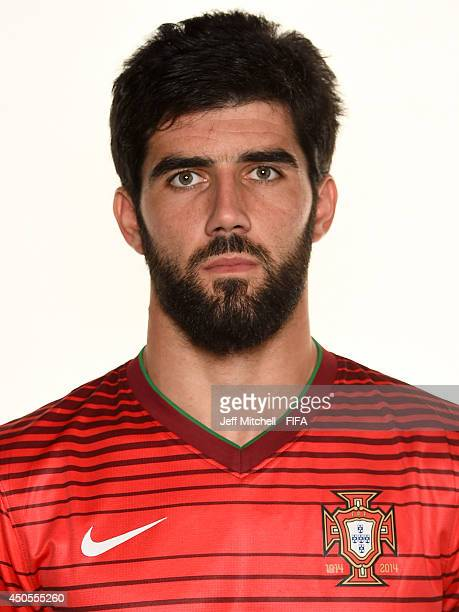 Luis Neto of Portugal poses during the official FIFA World Cup 2014 portrait session on June 12 2014 in Sao Paulo Brazil