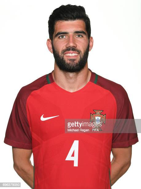 Luis Neto poses for a picture during the Portugal team portrait session on June 15 2017 in Kazan Russia