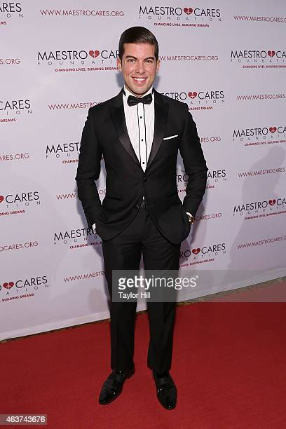 Luis Ortiz attends the 2015 Maestro Cares Gala at Cipriani Wall Street on February 17 2015 in New York City