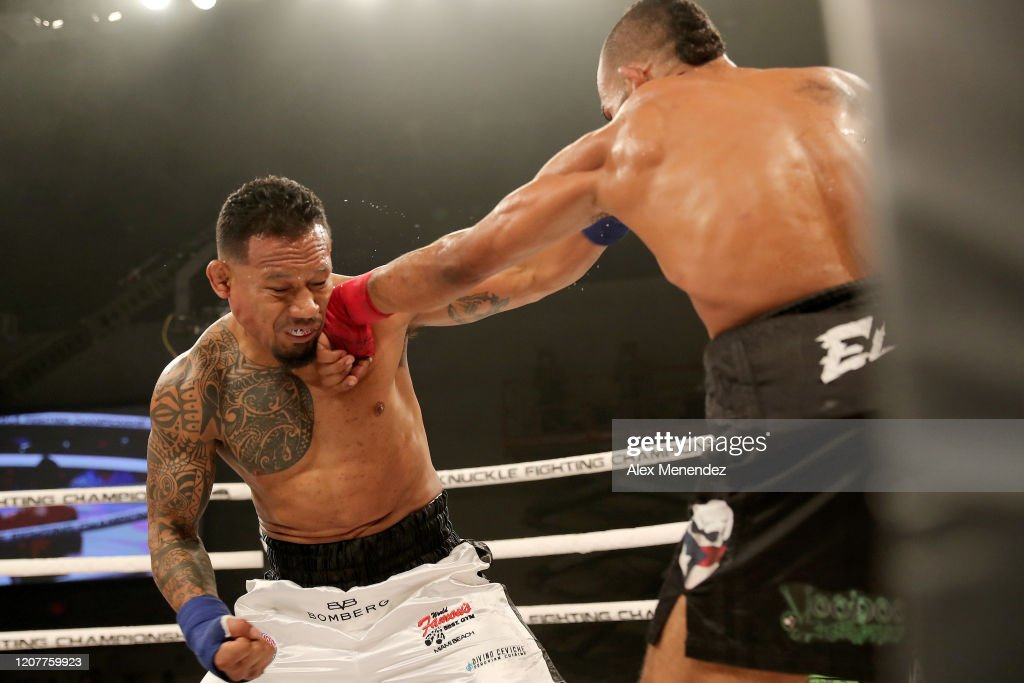 Bare Knuckle Fighting Championship - Lombard vs. Mundell : News Photo