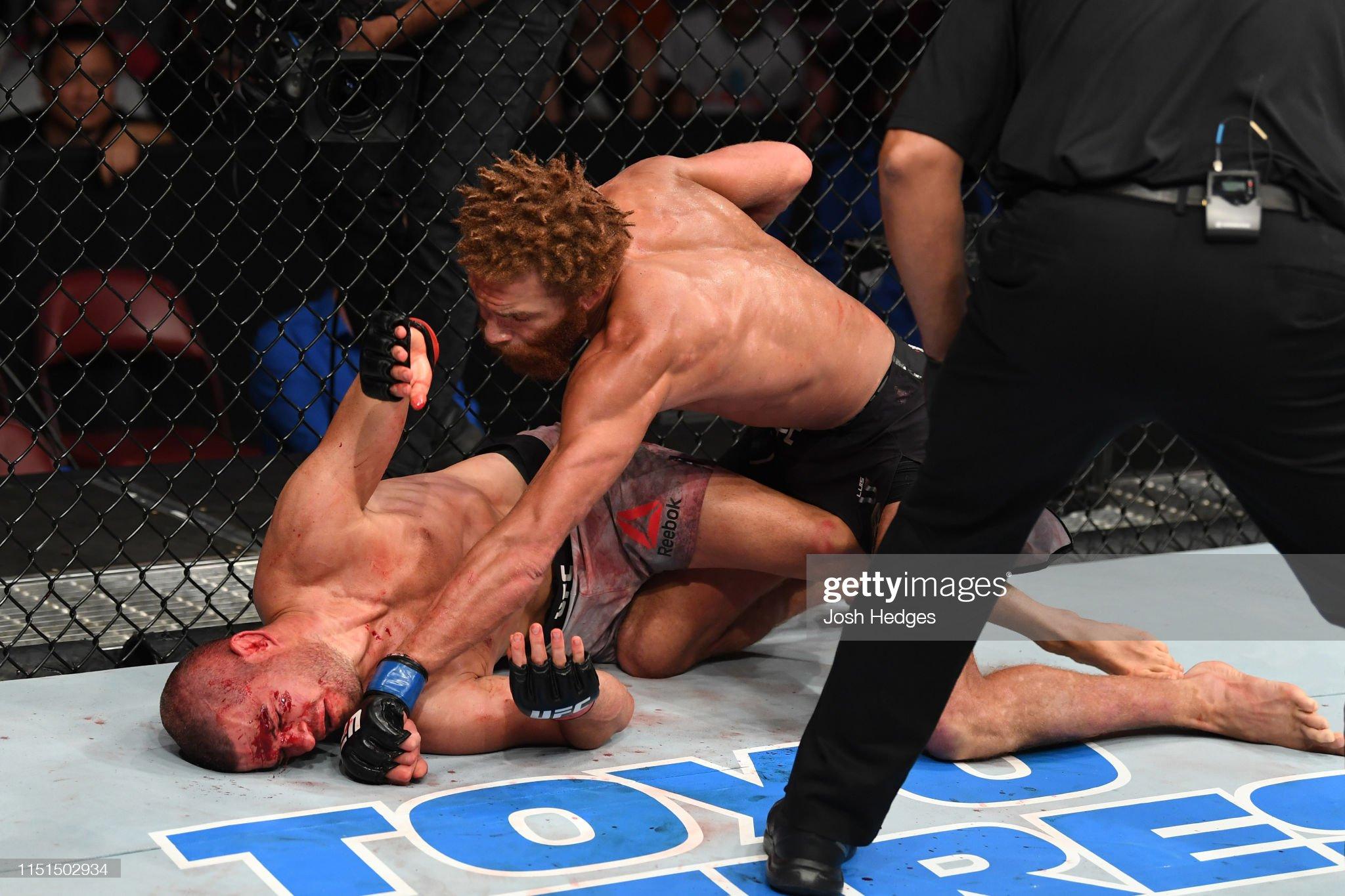 UFC Fight Night: Wiman v Pena : News Photo