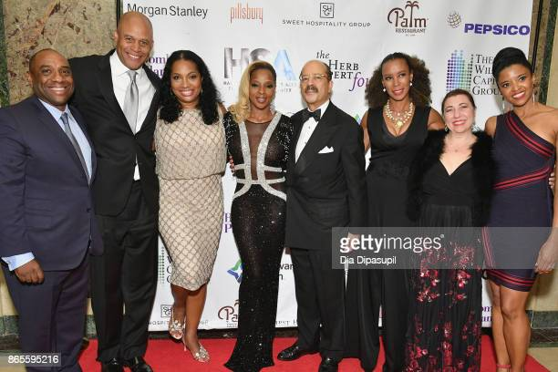 Luis Penalver Eric Pryon Janice Savin Williams Singer Mary J Blige Charles Hamilton Jr Michelle Fizer Elizabeth Penalver and actress Renee Goldsberry...