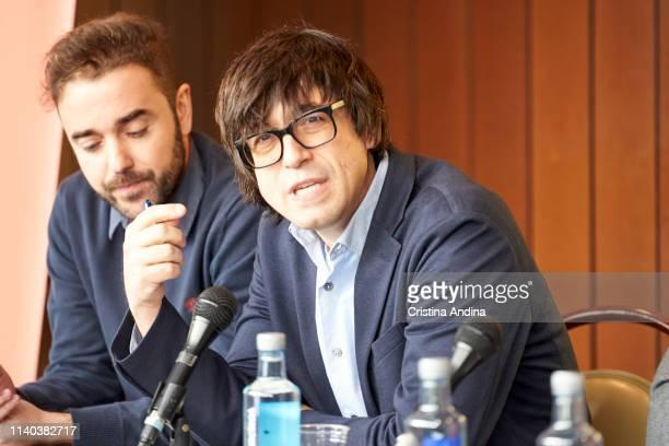 Luis Piedrahita attends EMHU press conference at Colon Theatre on April 4 2019 in A Coruna Spain