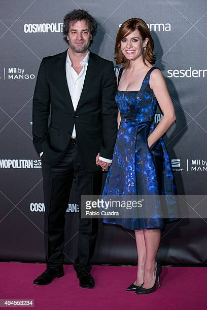 Luis Rallo and Alexandra Jimenez attend VIII Cosmopolitan Fun Fearless Female Awards at Ritz hotel on October 27 2015 in Madrid Spain
