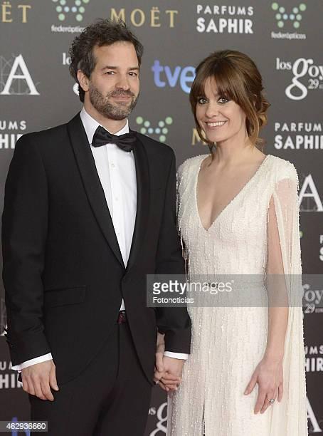 Luis Rayo and Alexandra Jimenez attend Goya Cinema Awards 2015 at Centro de Congresos Principe Felipe on February 7 2015 in Madrid Spain