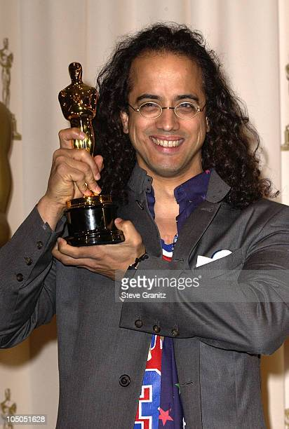 Luis Resto winner for Achievement in Music for Best Original Song sung by rapper Eminem Lose Yourself from the film 8 Mile