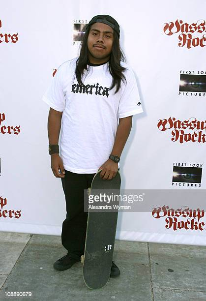 Luis Rojas Salgado during Wassup Rockers Los Angeles Premiere and Party at Egyptian Theater in Hollywood California United States