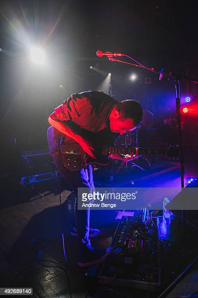Luis Santos of All We Are performs on stage at Scala on October 14 2015 in London England
