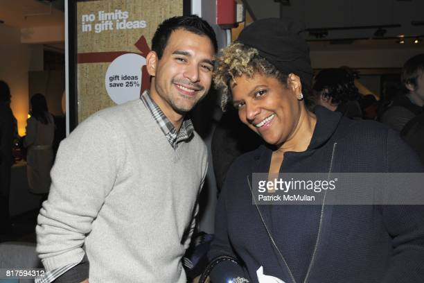 Luis Sarmiento and Katty Hughes attend 8TH ANNUAL BoCONCEPT/KOLDESIGN HOLIDAY PARTY at BoConcept on December 14 2010 in New York City