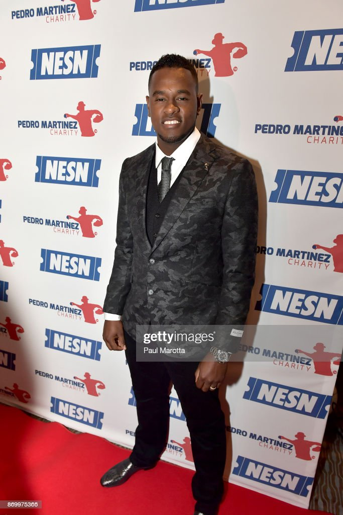 Luis Severino attends the 2nd Annual Pedro Martinez Charity Gala at The Colonnade Boston Hotel on November 3, 2017 in Boston, Massachusetts.