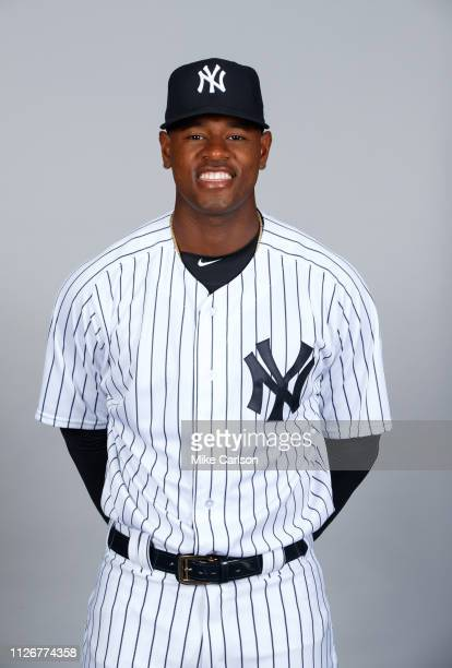 Luis Severino of the New York Yankees poses during Photo Day on Thursday February 21 2019 at George M Steinbrenner Field in Tampa Florida