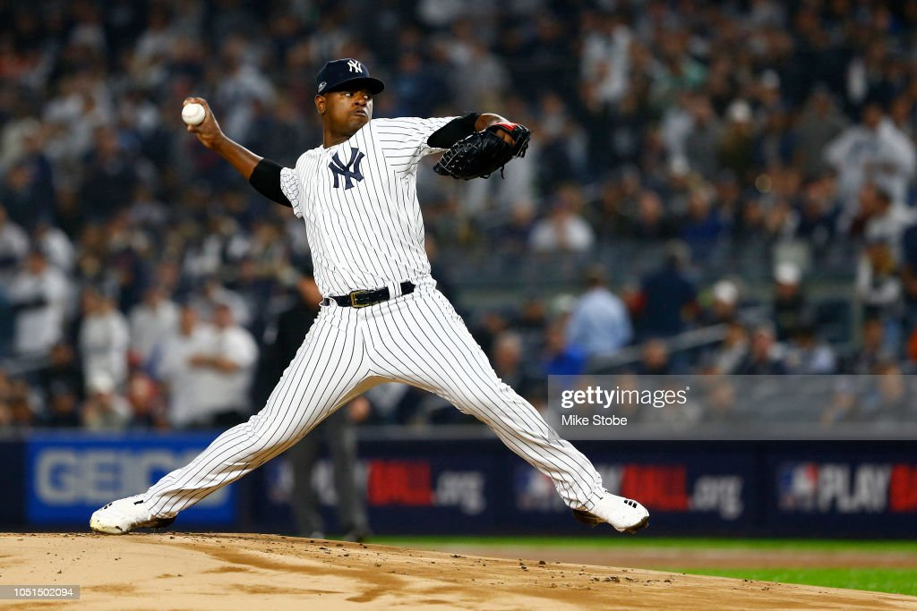 Divisional Round - Boston Red Sox v New York Yankees - Game Three : News Photo