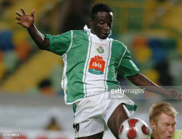 Luis Silva of Setubal during the UEFA Cup first round match between Vitoria Setubal and Heerenveen in Lisbon Portugal on September 14 2006 The first...