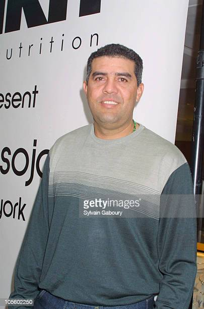 Luis Sojo during Luis Soho Promotional for Zirh Skin Nutrition Products at Bloomingdale's in New York City New York United States