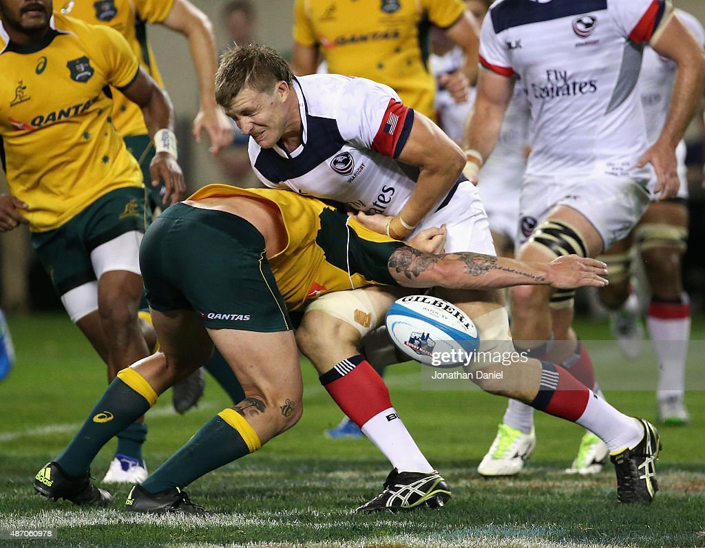 Australia Wallabies v United States Eagles : News Photo