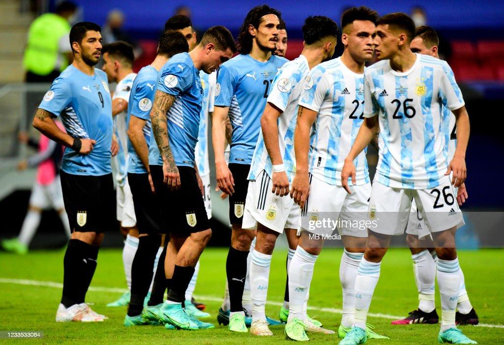 Argentina v Uruguay: Group A - Copa America Brazil 2021 : News Photo