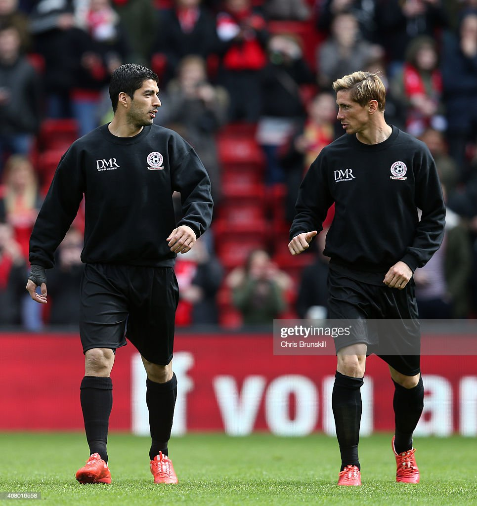 Liverpool All-Star Charity Match : News Photo