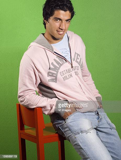 Luis Suarez during a photoshoot at May 21 2007 at Groningen Netherlands