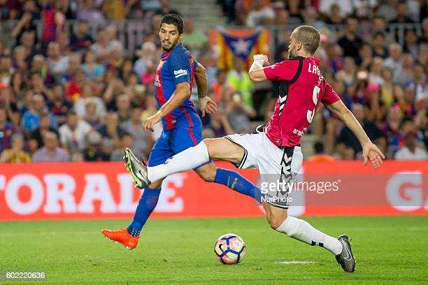 Luis Suarez during La Liga match between FC Barcelona v D Alaves in Barcelona on September 10 2016