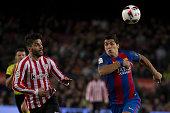 luis suarez during spanish kings cup