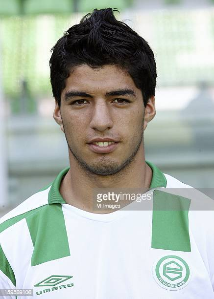 Luis Suarez during the team presentation of FC Groningen at July 30 2006 at Groningen Neteherlands