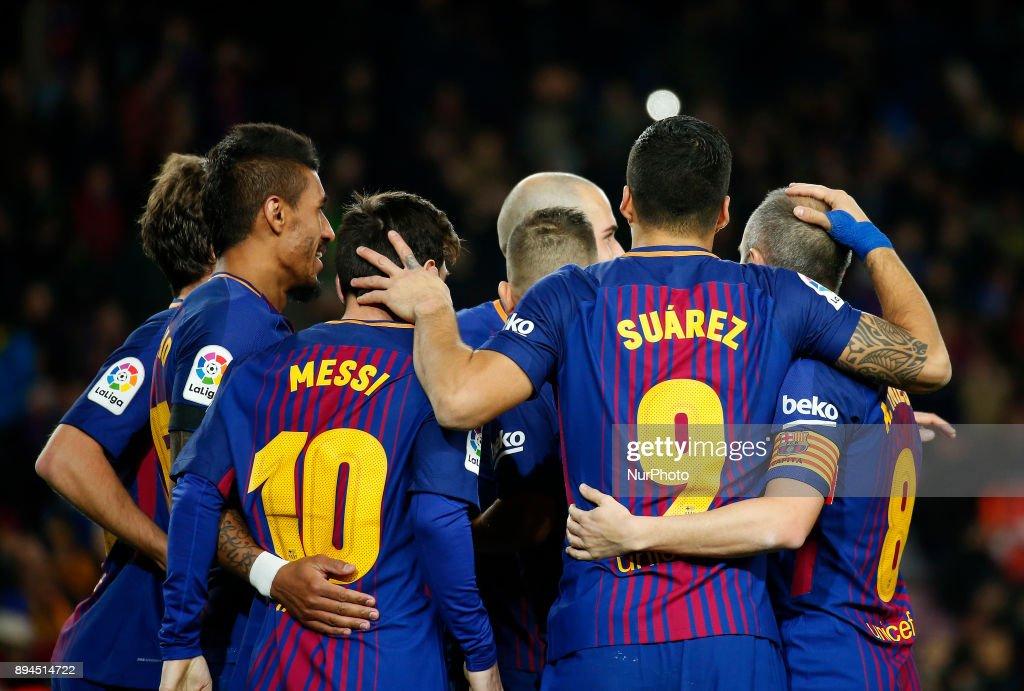 Barcelona v Deportivo La Coruna - La Liga : News Photo