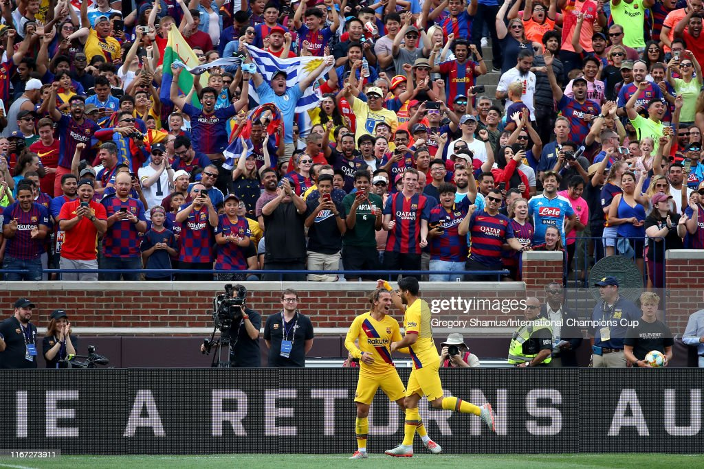 FC Barcelona v SSC Napoli - 2019 International Champions Cup : ニュース写真