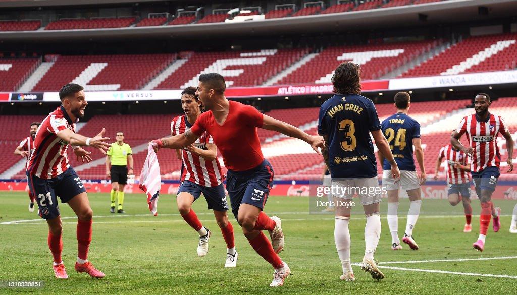 Atletico de Madrid v C.A. Osasuna - La Liga Santander : News Photo