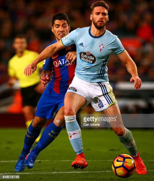 Celta Vigo Vs Barcelona Direct: Sergi Gomez Stock Photos And Pictures