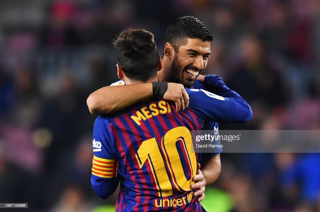 FC Barcelona v CD Leganes - La Liga : News Photo
