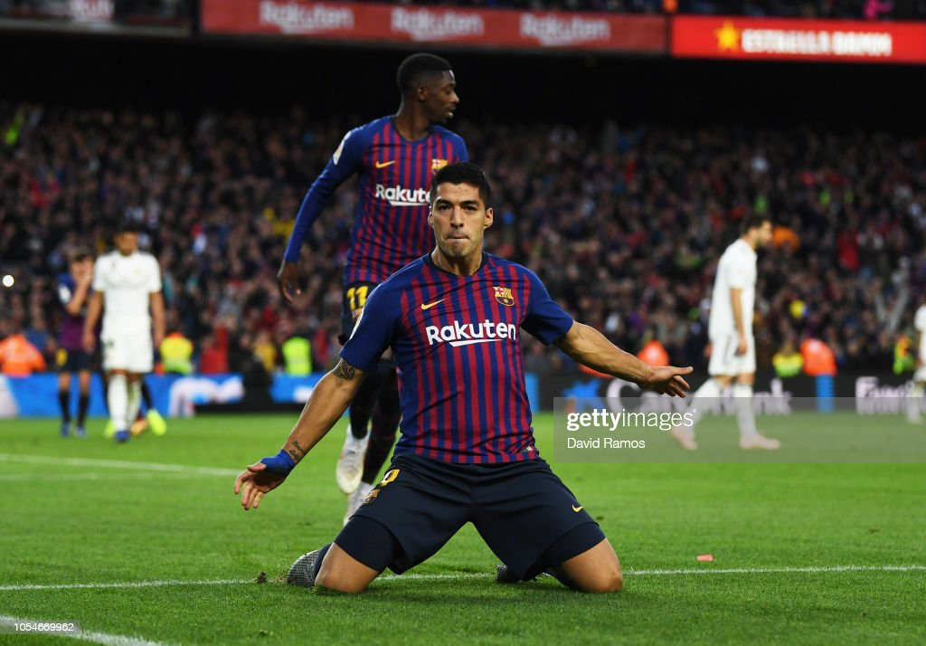 FC Barcelona v Real Madrid CF - La Liga : Foto jornalística
