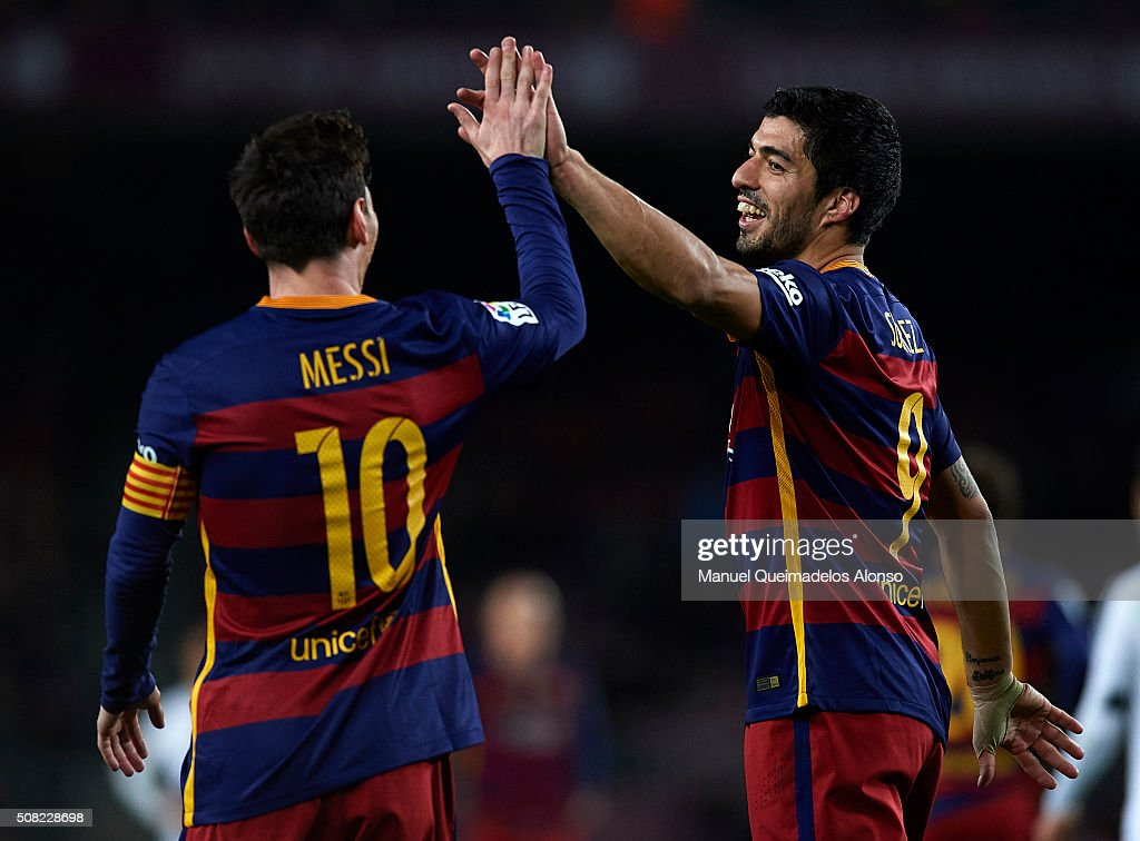 Barcelona v Valencia - Copa del Rey Semi Final, First Leg : News Photo