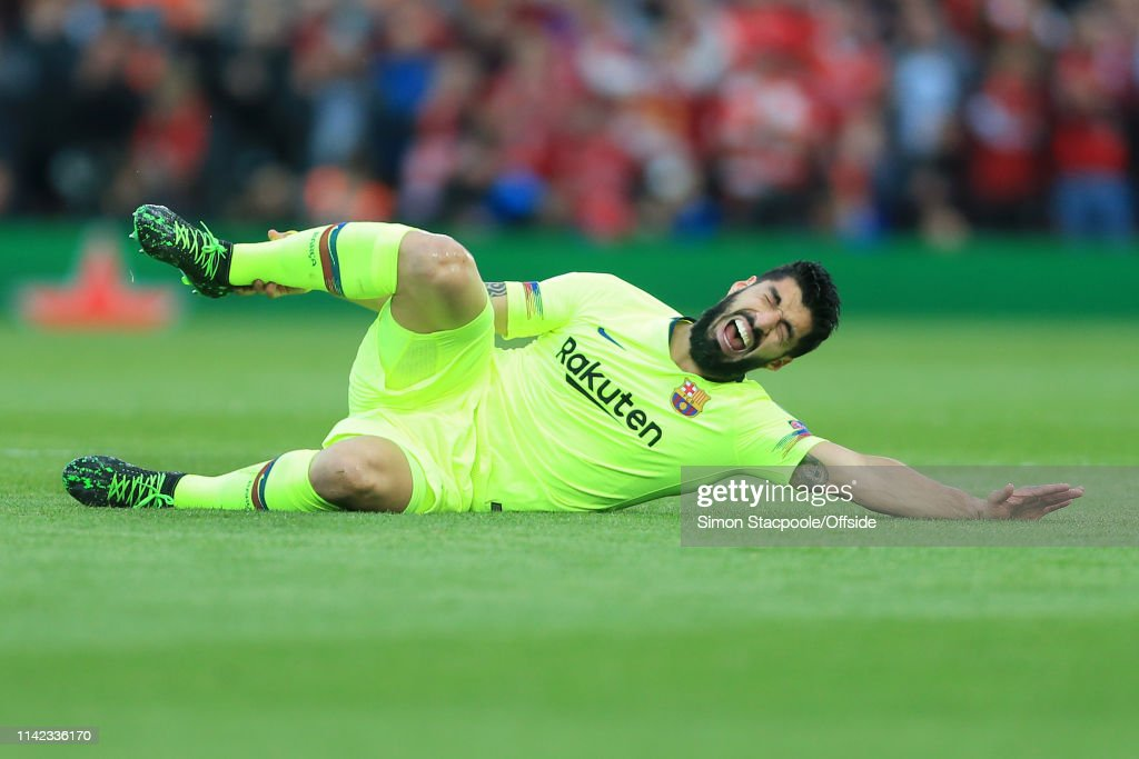 Liverpool v FC Barcelona - UEFA Champions League Semi Final: Second Leg : ニュース写真